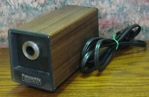 Panasonic KP-774 Desktop Electric Pencil Sharpener - 1990s Vintage