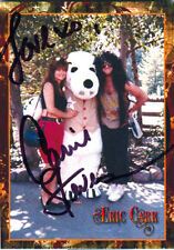 KISS, ERIC CARR, GIRLFRIEND, PLAYBOY PLAYMATE CARRIE STEVENS SIGNED TRADING CARD
