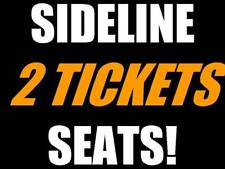 2 tickets Cincinnati Bengals Baltimore Ravens 9/13 ROW 5!!!
