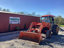 2008 Kubota L5030 4x4 Hydro 50hp Compact Tractor With Cab Amp Loader No Doors