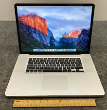 Apple MacBook Pro 17 A1297 MC226LL/A Laptop Intel Core 2 Duo 8GB RAM 1TB HDD