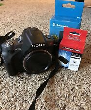 Sony A330 10.2 MP Digital Camera DSLR w/ BRAND NEW BATTERY AND CHARGER
