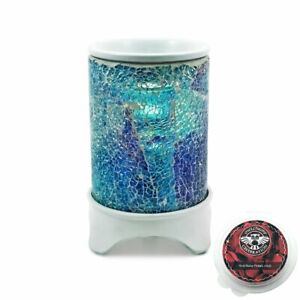 Owlchemy OCEAN Electric wax burner  with light, dimmer and celebration scents