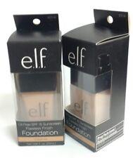 2 Pack - e.l.f. Oil-Free SPF 15 Sunscreen Flawless Finish Foundation, Caramel