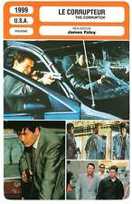 FICHE CINEMA : LE CORRUPTEUR - Chow Yun-Fat,M.Walhberg 1999 The Corruptor