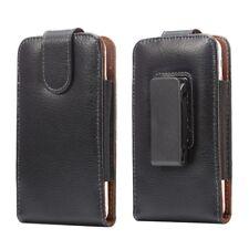 Universal Holster Gürtelclip Magnet Echt Leder Etui iPhone 8 7 6 6S Galaxy S4 A3