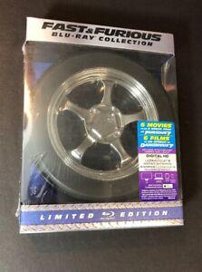 Fast & Furious 6-Movie Collection [Edizione Limitata Pacchetto] (Disco)