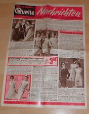 dachbodenfund versandhaus mini katalog quelle nachrichten prospekt heft 1969 alt