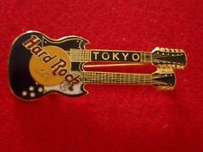 HRC hard rock cafe Tokyo Purple Gibson Double Neck Guitar
