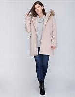 Lane Bryant Faux Fur Collar Lady Coat 14/16 18/20 22/24 26/28 1x 2x 3x 4x