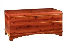 Hope - Blanket Cedar Chest Kit Do-It-Yourself Woodworking - Solid Wood Trunk DIY