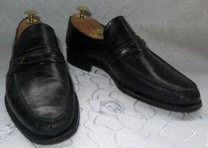 MORESCHI  Luxus Designer Business Schuhe/ Slipper  Gr. 8 42 Neuw