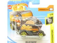 Hot Wheels Roller Toaster Experimotors 24/250 Black Short Card 1 64 Scale Sealed