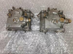 weber 45 DCOE carburettors (genuine italian)