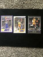 Lebron James - 2019-2020 Panini Chronicles Cards (Lot of 3) - Lakers