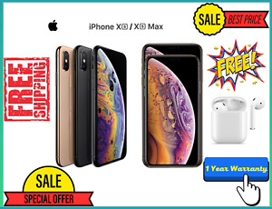 Apple iPhone XS Max 256GB A2101 Open Box Unlocked With 12 Month Warranty