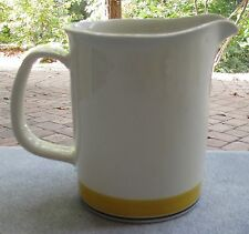 Arabia of Finland Faenza Yellow Serving Pitcher