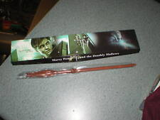 """Harry Potter And The Deathly Hallows Wood Wand 13 1/2"""" Long New In Box"""