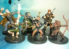 Dungeons & Dragons Miniatures Lot Ranger Archer Player Characters !! s135