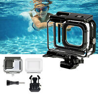 For GoPro Hero 9 Camera 5K Waterproof Cover 50M Diving Underwater Transparent