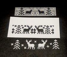 Sizzix Die Cutter Border Christmas Theme Thinlits fits Sizzix Big Shot Cuttlebug