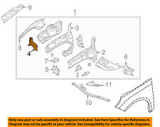 FORD OEM 12-18 Focus Fender-Support Bracket Right CP9Z16A023A