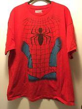 Men's Marvel Mad Engine Spider-Man Shirt Size XL Red Blue