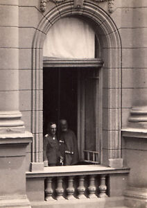 Original Photo King 1934 KARAGEORGEVICH Barthou ROYALTY SERBIA France