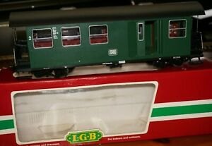 Rfb ] LGB G Scale 3071 Luggage And Passenger Car Boxed Very Good Condition