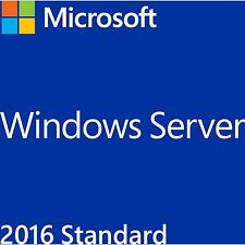 Microsoft Windows 2016 Server Standard 16 Core , DVD-ROM, deutsch