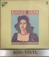 Janis Ian Present Company Vinyl UK Capitol Vine Series 1st Press A1/B1 LP EX CON