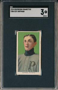 1910 T206 SOVEREIGN - IZZY HOFFMAN - SGC 3 VG (SVSC)