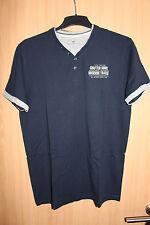 Tom Tailor Herren T-Shirt Gr. L blau