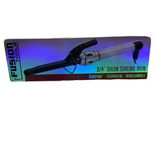 "Fusion Tools Gemstone Tourmaline Nanocomplex 3/4"" Salon Curling Iron HTX404 NIB"