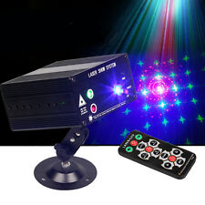 12V RGB Laser Stage Lighting RED Green Blue LED DJ KTV Disco Xmas Party Lamp