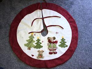 large christmas tree skirt From Debenhams