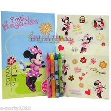 MINNIE MOUSE BOWTIQUE COLORING FUN SET Birthday Party Supplies Favors Activities