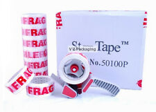 14 Rolls FRAGILE 50MM X 100M 54UM EXTRA STRONG Sticky Packing Printed Tape