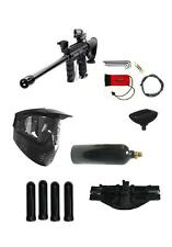 "Tippmann 98 Custom Paintball Gun Sniper 18"" Barrel, Stock,Red Dot 4+1 Pack 20 oz"