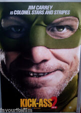 Cinema Poster: KICK-ASS 2 2013 (Colonel Stars And Stripes One Sheet) Jim Carrey