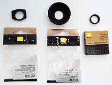 Kit adaptation occulaire Nikon FM pour D750 D610 D600 D7200 D7100 D7000 D300 200