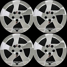 "2010-2012 CHROME Prius 15"" Wheel Covers Hub Caps 5 Spoke Full Rim Skins Lug Hubs"