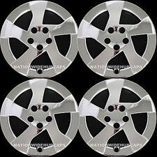 """2010-2012 CHROME Prius 15"""" Wheel Covers Hub Caps 5 Spoke Full Rim Skins Lug Hubs"""