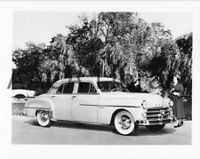 1950 Dodge D34 Coronet Four Door Sedan, Factory Photo (Ref. # 38643)