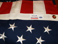 Commercial Grade- Valley Forge American Flag 3'x5' sewn Koralex II™ USA