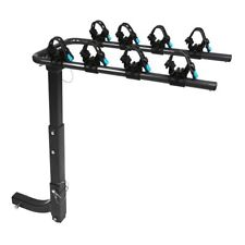 4 Bicycle Bike Rack 2'' Hitch Mount Rear Carrier Foldable for Truck Car SUV