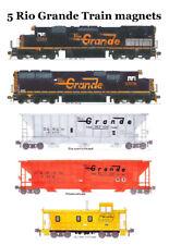 Rio Grande Grain Train 5 magnets Andy Fletcher