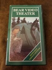 Fred Bear Video Theater Vhs Trophy Elk Stone Sheep hunting 7941-520