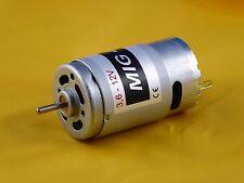 DC Motor MIG 480 3Li, für kleinere bimittelgroße Flugmodelle, Schiffe usw., 12V