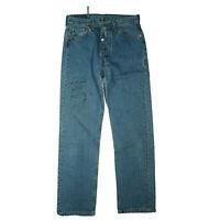 Levis Levi`s 501 Herren Jeans Hose 30/30 W30 L30 blau stonewash USA used TOP C36